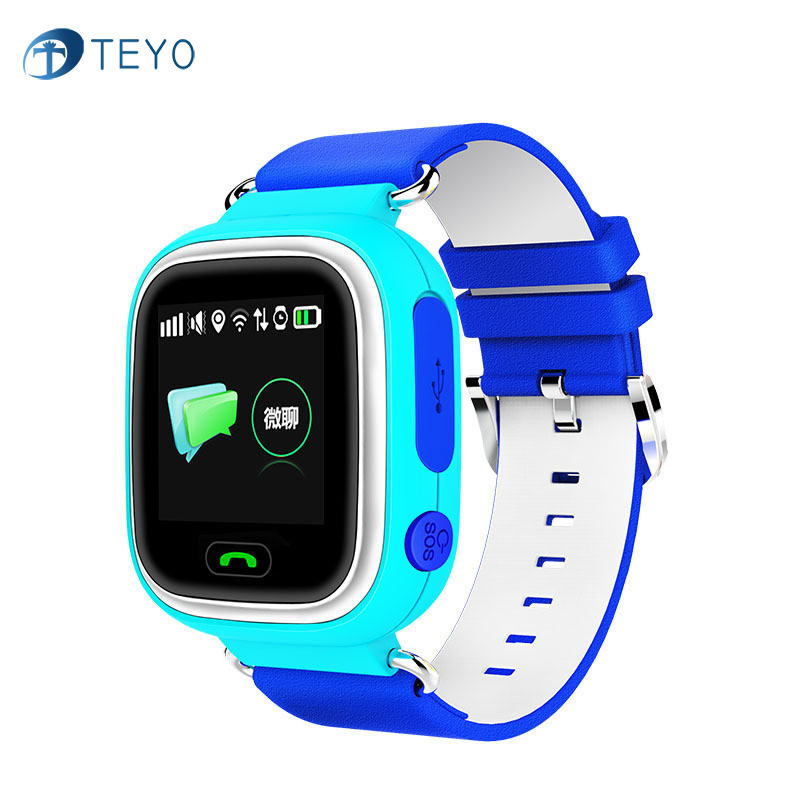 2016 Kids GPS Smart Watch Wristwatch SOS Call Location Device Tracker for Child Safe Anti Lost Monitor Baby Gift Q80 PK Q50<br>