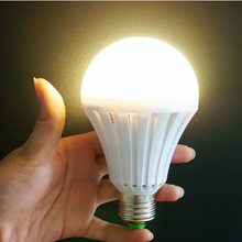 LED Bulb E27 AC 220V 110V 5W 7W 9W 12W Intelligent Magical Lamps Emergency Light Saving Lamp Indoor Furniture For Home