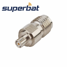 Superbat RF Coax Connector SMA Jack Female to IPX Jack straight RF Adapter Connector for Wireless Antenna(China)