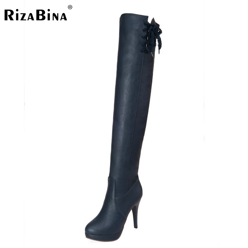 women high heel over knee boots fashion snow warm winter botas masculina riding boot brand footwear shoes P20461 size 34-43<br>