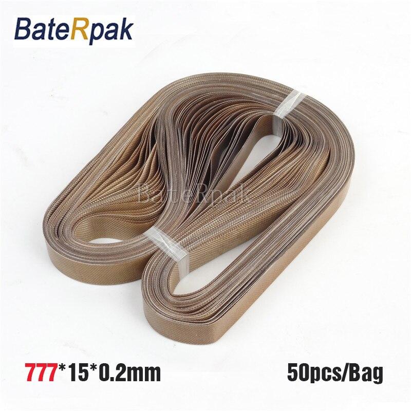 777*15*0.2mm BateRpak Band sealer teflon belt,P.T.F.E Resin seamless ring tape(Glass cloth impregnated with P.T.F.E) 50pcs/bag<br>