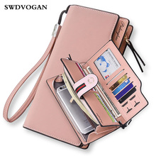 Women Wallets Handbag Wallet Case Xiaomi MI A1 Ladies Purse for Girls Wallet Female Phone Bag Case for iPhone Portefeuille Femme(China)