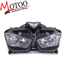 Motoo -Hot Sales Motorcycle Headlight HID LED Frontlight For Yamaha R25 R3 2014-2016 Front Head Lamp Lighting Parts(China)
