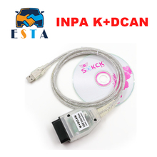 Best price For BMW INPA K+CAN K CAN INPA With FT232RL Chip INPA K DCAN For BMW USB Interface Full Diagnostic with switch