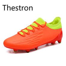 Soccer Shoes Man Football Boots 2017 Mens Soccer Cleats  Men's Football Shoe Massage Non-slip Soccer Shoe Discount Cheap Trainer