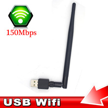 Hot Sale New Fashion 5DBI USB Wireless WiFi Adapter Dongle Network LAN Card receiver mini 802.11N mobile laptop