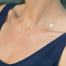 Trendy Gold Silver Color Chain Short Bird Shape Animal Choker Necklace On The Neck For Girl Women Fashion Jewelry Wholesale