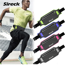 Buy Sireck Running Bag Waterproof Running Waist Bag Fanny Pack Men Women Jogging Belt Gym Fitness Bag Sport Bike Accessories for $6.99 in AliExpress store