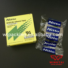 30Rolls/Lot High Quality Nitto Denko Tape 973UL-S Nitoflon Silicone Adhesive Tape (T0.13mm*W13mm*L10m)