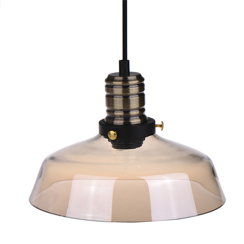 Retro Glass Lights Ceiling Lamp With Edison Bulb E27 220V Vintage Industrial Cable Chandelier<br>
