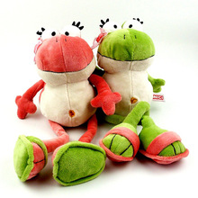 40cm New Nici The Frog Prince Cute Frog Plush Toy Children Lovers Birthday Christmas Present 1pcs