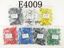 100pcs E4009 12 AWG 4.0mm2 Insulated Cord End Terminal Wire Ferrules(China)