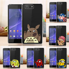 Buy Clear Case Hard Back Cover Case Sony Xperia Z3 Compact Z3 Mini M55W Cute Cartoon Fashion Cover Sony Z3 Mini for $2.99 in AliExpress store