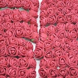 36/72/144 шт., декоративные цветы для украшения медведя, 2 см