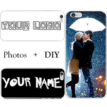 Custom WordArt Name Photo Printing Cell Phone Case Cover For Samsung Galaxy S3 S4 S5 Mini S6 S7 Edge Plus Note 2 3 4 5 Neo Lite