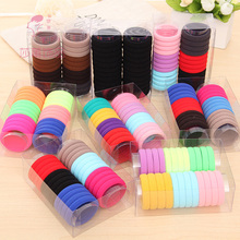 Shapu 24pcs Classic color towel hair bands elastic hair band for rubber bands hair accessories for lady scrunchies headwear(China)