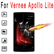 Screen Protector For Vernee Apollo Lite 5.5inch Premium Tempered Glass Film 9H Hard 2.5D 0.26mm Anti-Explosion Protective Films
