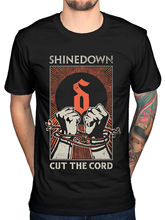2017 Funny Men'S Shinedown Cut The Chord T Shirt Rock Amaryllis Brent Smith New Merch Printed Tops Cool Short Sleeve Tees(China)