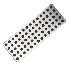 Stainless Steel Non Slip Foot Rest Plate Footrest Pedal Cover For Mercedes Benz A C E CLA GLA GLK Class Car Styling Interior(China)