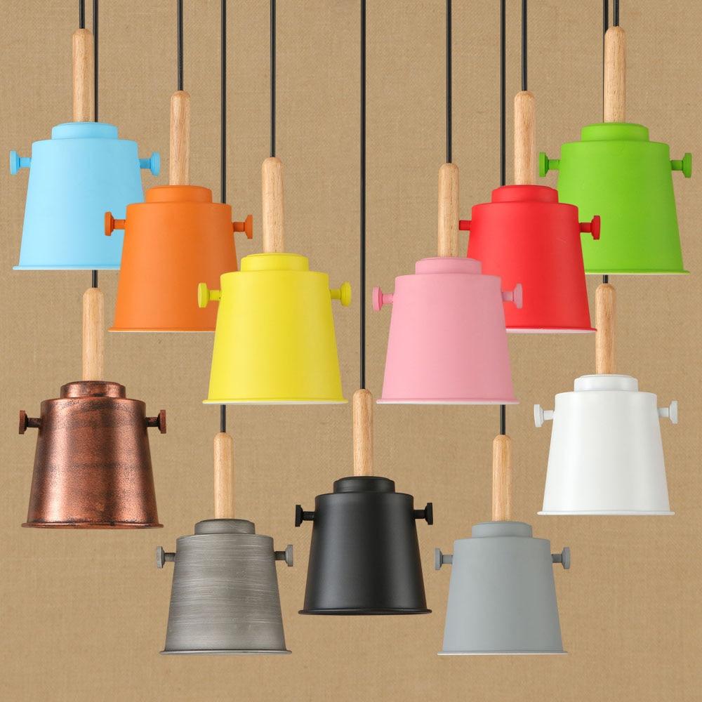 Modern metal Pendant Lights Lamparas Colorful Aluminum lamp shade Luminaire Dining Room Lights Pendant Lamp For Home Lighting<br>