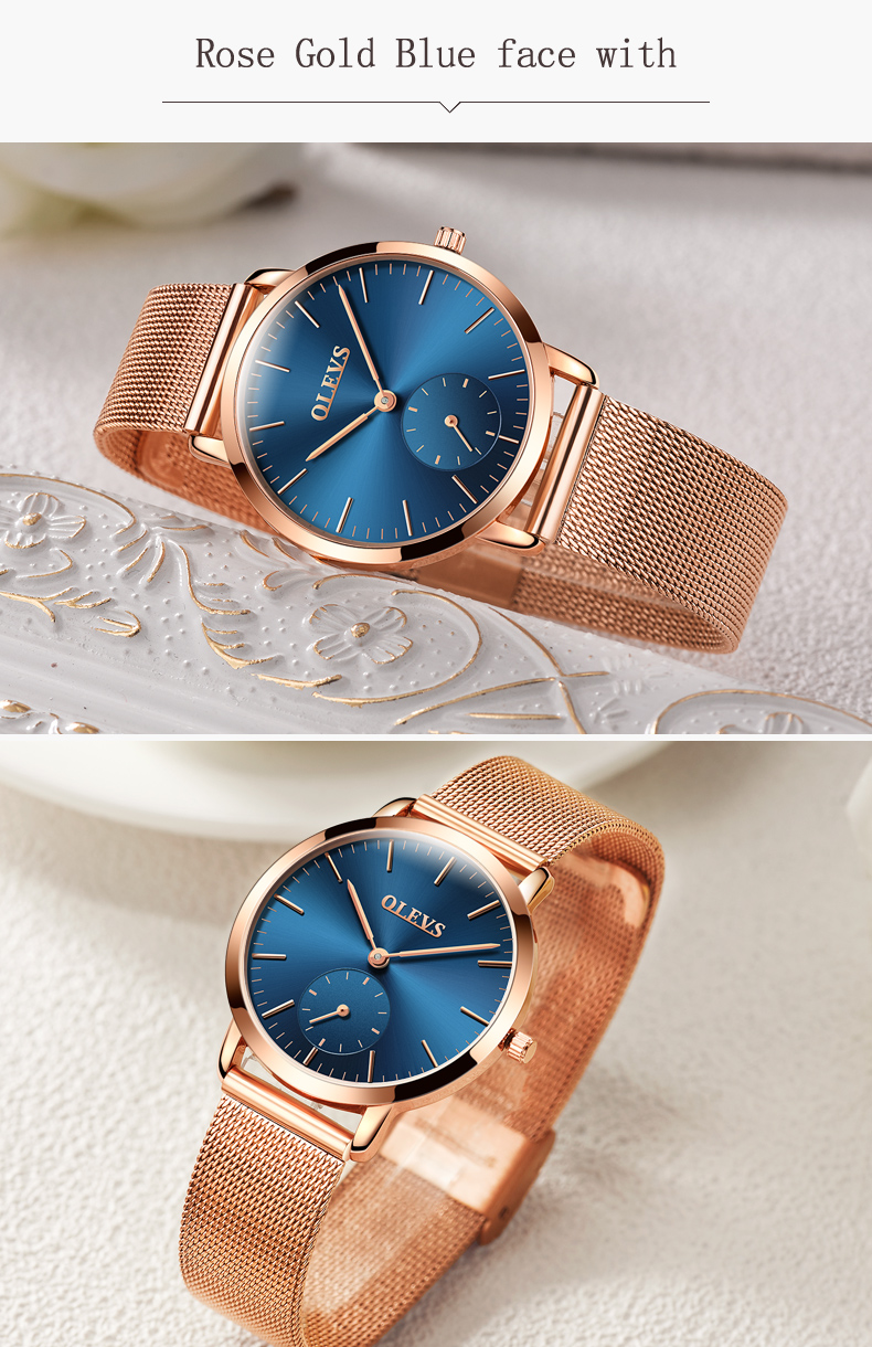 HTB1goWJSpXXXXbUXXXXq6xXFXXXg - OLEVS Luxury Watches Women's Rose Gold Casual Quartz Watch Stainless Steel Watch Water Resistant Clock relojes hombre 2017 saat