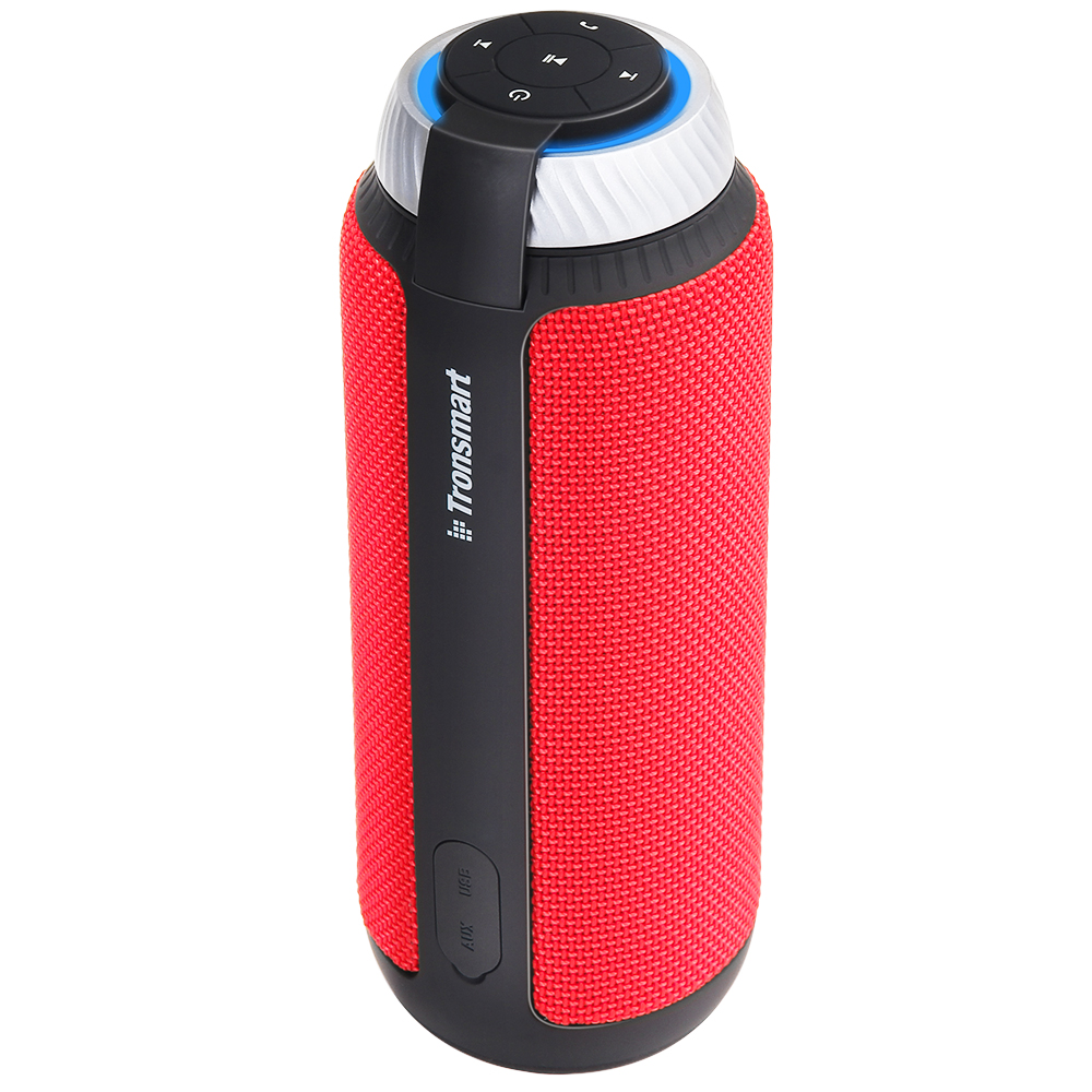 NEW TRONSMART ELEMENT T6 BLUETOOTH PORTABLE SPEAKER WIRELESS SOUNDBAR RECEIVER MINI SPEAKERS RED 1