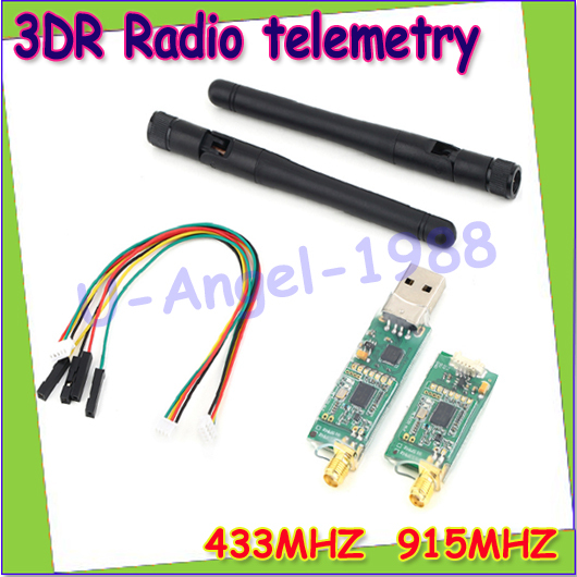 Regitster free shipping+ 1set Single TTL 3DRobotics 3DR Radio Telemetry Kit 433Mhz 433 915MHZ for APM APM2<br><br>Aliexpress