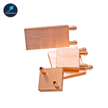 PC CPU GPU Northbridge Waterblock Pure Copper Universal For Intel & AMD & MCU 40*40 40*80 50*50 55*55