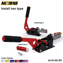 AUTOFAB - Universal Racing Hydraulic Drift E-Brake Handbrake Vertical Horizontal Lever For Honda Civic EK9 2/3/4Dr AF-B11001