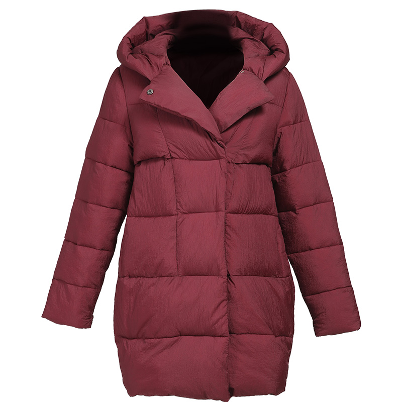 Women Long Winter Cotton Jacket 2017 New Fashion Plus Size Loose Parka Ladies Thicken Hooded Collar Coat Warm Female Outercoat
