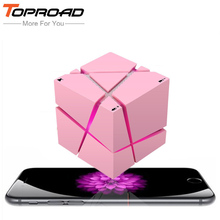 TOPROAD Mini LED Bluetooth Speaker Portable Wireless SpeakerS Sound System 3D Stereo Music Surround Support TF FM AUX With Mic(China)