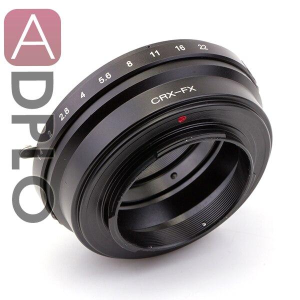 Pixco lens Adapter Suit for Contarex CRX Mount Lens to Fujifilm FX Camera X-Pro1 X-E1 X-E2 X-M1 X-A1 Focus infinity<br><br>Aliexpress