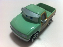 Disney Pixar Cars R.S. John Lassetire Metal Diecast Toy Car 1:55 Loose Brand New In Stock & Free Shipping(China)