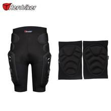 Herobiker Motorcycle Shorts Hip Protector Motorcycle Armor Pants Motocross Protection Riding Racing Equipment Gear & Knee Guards(China)