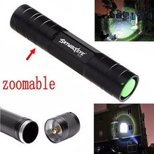 1Pc Portable Camping Bike Flash Lights Focus 3500 Lumens Zoom XML T6 LED Flashlight 3 Modes 18650 Torch Lamp P0.16(China)