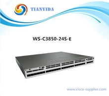 Catalyst 3850 24 Port GE SFP IP Services Switches WS-C3850-24S-E(China)
