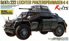 RealTS TAMIYA MODEL 1/35 SCALE military models #35270 German Armored Car Sd.Kfz.222 Special Edition plastic model kit