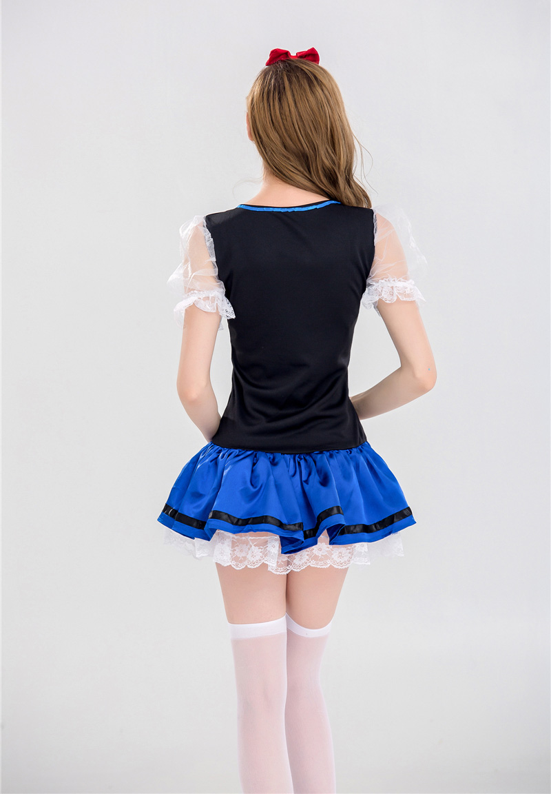 Details about  /US STOCK Blue Ladies Oktoberfest Costume Beer Maid Wench Bavarian Fancy Dress
