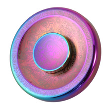 Colorful Maya Clouds Fidget Spinner Round Cake Shape Hands Spinner Metal EDC Handspinner Toy Fingertip Relieve Stress Spiner(China)