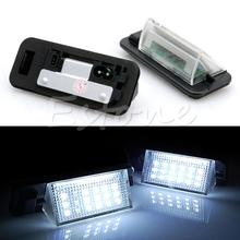 2Pcs 18 LED License Number Plate Light Lamp for BMW 3-series E36(1992-1998)(China)