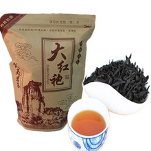 New Factory Direct 250g Big Red Robe Oolong 250g Da Hong Pao Tea ,wu Long Wulong Wu-long Da Hong Pao Blac Tea Bag+gift