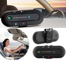 Wireless Handsfree Car Kit Speaker Speakerphone Clip with Car Charger for iPhone