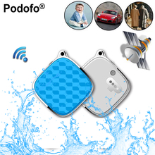 Podofo Mini GPS Tracker With GSM GPRS Tracker SOS Alarm Personal Realtime Locator for Kids Children Support Android/IOS APP PC