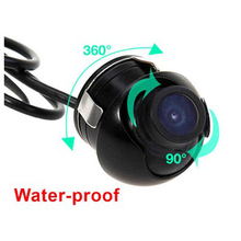 Factory Promotion CCD Chip HD night vision car rear view camera side view rear monitor for 360 degree Rotation Universal camera