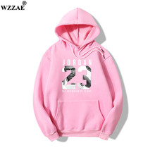 2018 Brand New JORDAN Men Sportswear Fashion Brand Print 23 100% Cotton Men Hoodies Pullover Hip Hop Mens Tracksuit Sweatshirts(China)