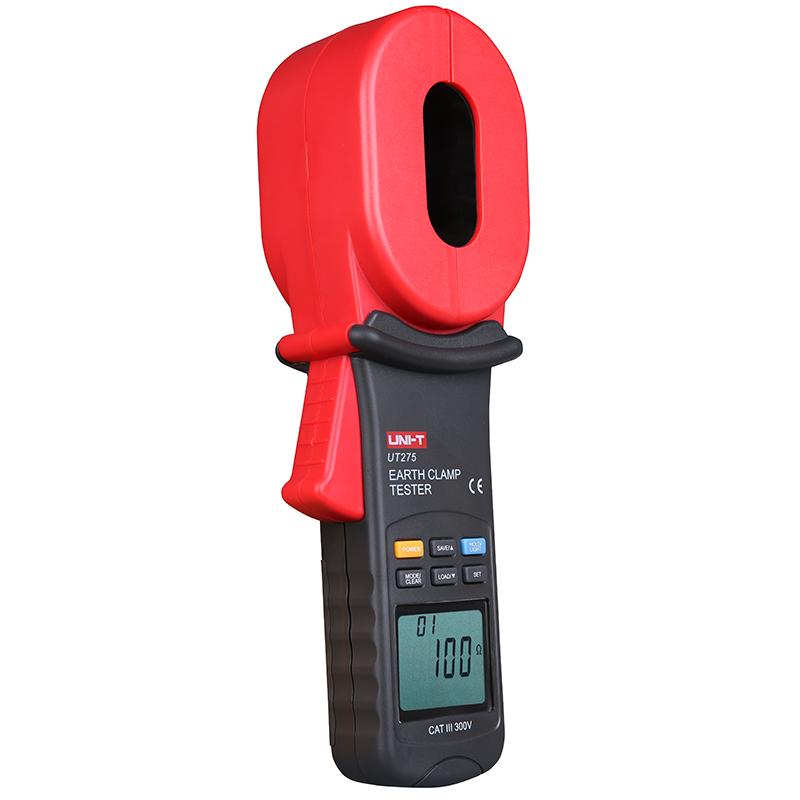 UNI-T UT275 Professional Auto Range Clamp Earth Ground Resistance Testers 0.01-1000ohm w 0~30A Leakage Current Tester UT2753