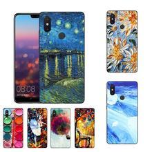MaiYaCa Scream Munch Van Gogh Starry Night Sun Flower phone case Xiaomi Mi 6 Mix2 2S Note3 8 8SE Redmi 5 5Plus Note4 4X 5