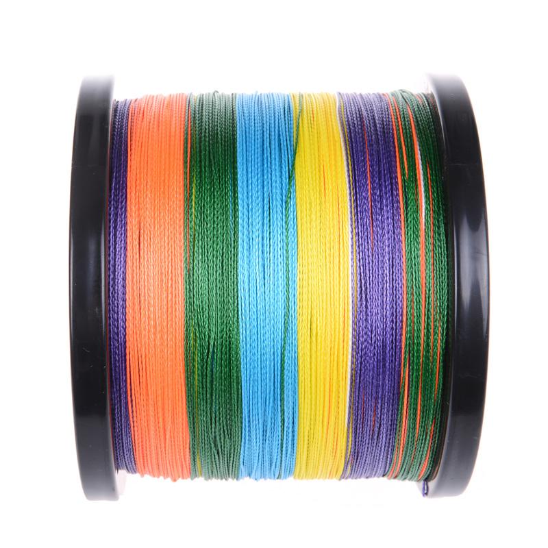 4 Strands 1000M Multi-color (4)