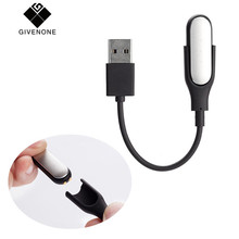 Buy GIVENONE USB Charging Cable Xiaomi Mi Band 2 Replacement Cord Charger Adapter Xiaomi Miband 2 Wristband Accessories for $1.36 in AliExpress store