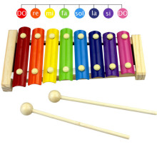 Wooden octave piano children's toys wooden children enlightenment early teach percussion instruments piano(China)